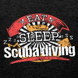 Eat Sleep Diving - Canotta premium da uomo