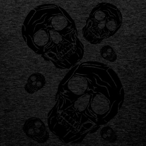 multiple skulls - Men's Premium Tank Top
