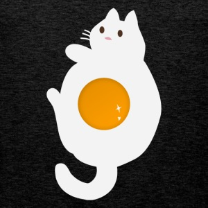Funny egg cat - Men's Premium Tank Top
