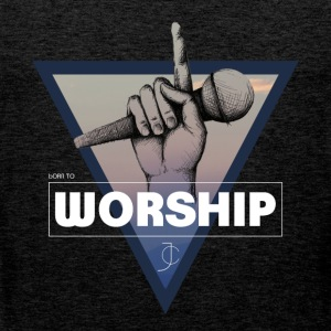 born to Worship JC - Men's Premium Tank Top