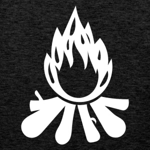 Outdoor · Camping · Fire · Campfire - Men's Premium Tank Top
