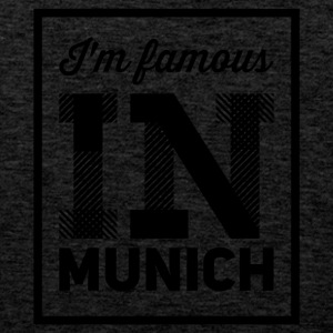 In the famous in munich - Men's Premium Tank Top
