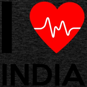 I Love India - I Love India - Premium singlet for menn