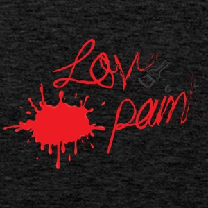LOVE & PAIN - Mannen Premium tank top