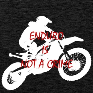enduro is not a crime 2 - Men's Premium Tank Top