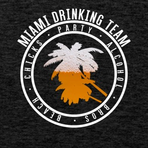 Shirt for Party vacation - Miami - Men's Premium Tank Top
