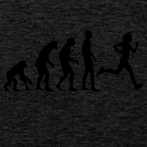 Human Evolution Running - Männer Premium Tank Top