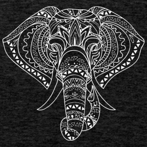 ELEPHANT HEAD white - Men's Premium Tank Top