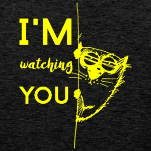 Watching you - Men's Premium Tank Top