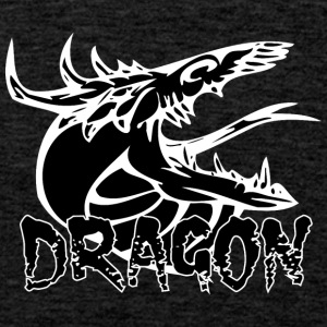 snake tongue dragon black - Men's Premium Tank Top
