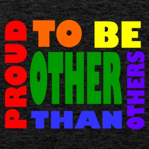proud to be other than others gay - Men's Premium Tank Top