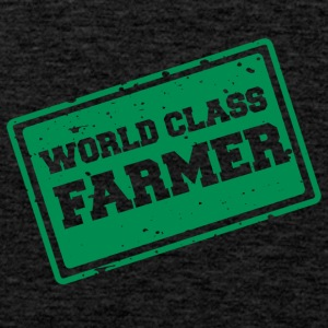 Farmer / Landwirt / Bauer: World Class Farmer - Männer Premium Tank Top