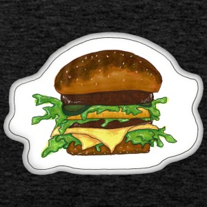 burger - Premium singlet for menn