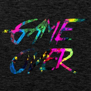 regenboog Game over - Mannen Premium tank top