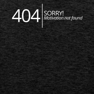 404 - Ingen Motivation fundet - Herre Premium tanktop