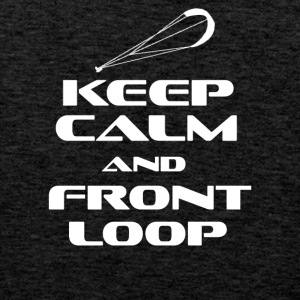 KITESURFING - KEEP CALM AND FRONT LOOP - Männer Premium Tank Top