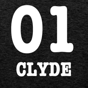 clyde white - Premium singlet for menn