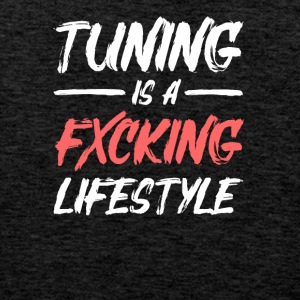 tuning is a lifestyle - Männer Premium Tank Top