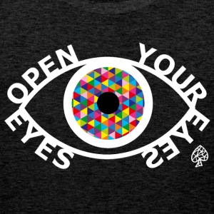 Formas - Open Your Eyes White - Tank top premium hombre