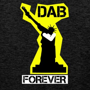 DAB FOREVER STATUE OF YELLOW Liberty- - Men's Premium Tank Top
