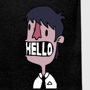 HELLO - Men's Premium Tank Top