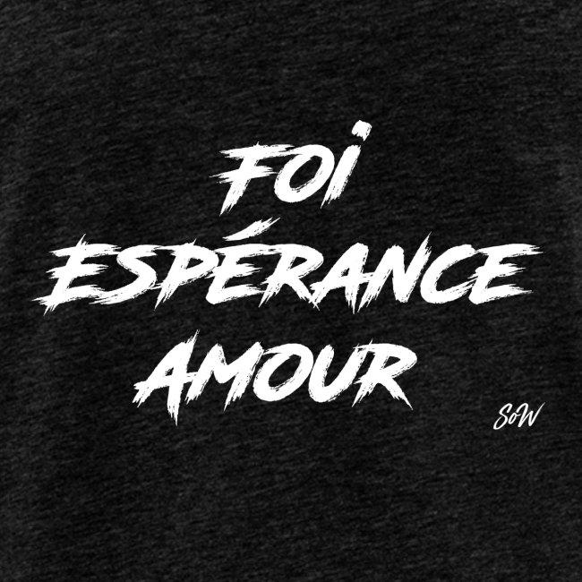 Foi Espérance Amour