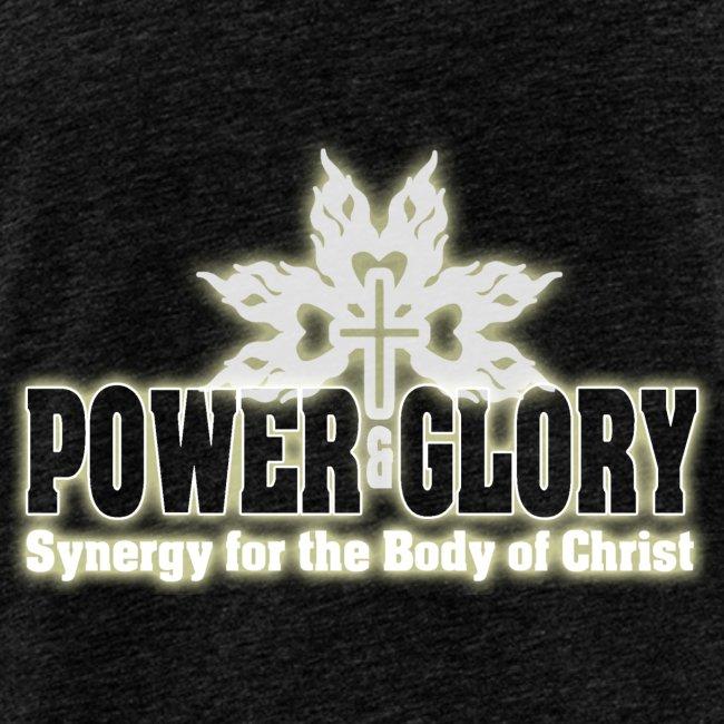 Power and Glory Logo glow