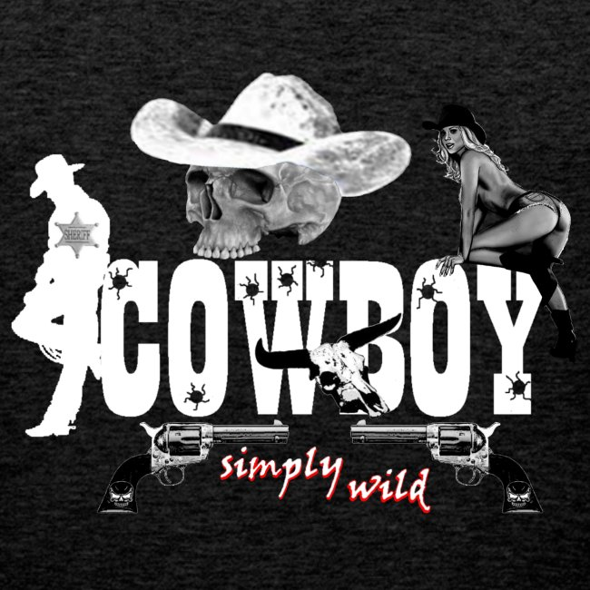 simplywild Cowboy on black