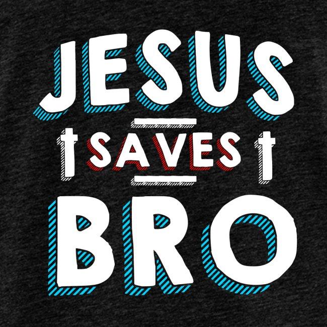 Jesus rettet Bruder Cooles Tshirt für Christen
