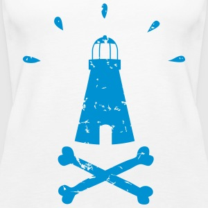 Pirate Lighthouse - Women's Premium Tank Top