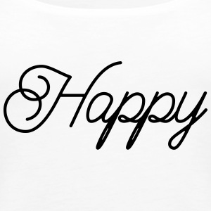 happy - Women's Premium Tank Top