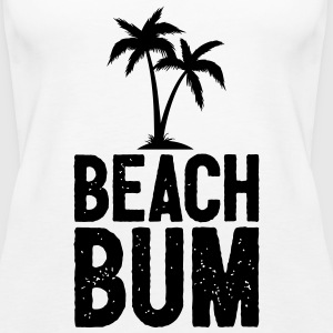 Beach Bum Cool Summer Design - Frauen Premium Tank Top