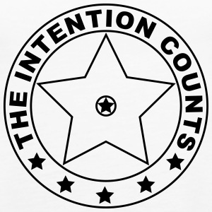 THE INTENTION COUNTS - Frauen Premium Tank Top