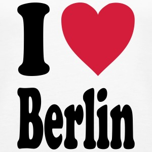 I love Berlin - Women's Premium Tank Top