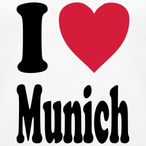 I love Munich - Women's Premium Tank Top