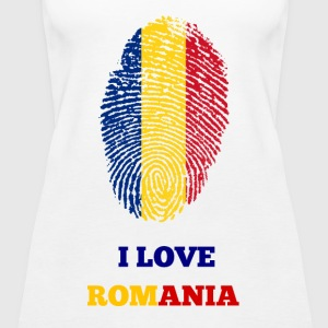 I Love Romania - Frauen Premium Tank Top