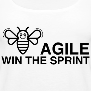 BE AGILE WIN THE SPRINT - Women's Premium Tank Top