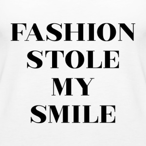 Fashion Stole My Smile - Women's Premium Tank Top