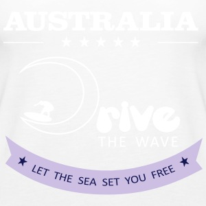 Australien Antrieb The Wave 02 - Frauen Premium Tank Top
