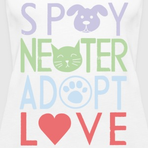 Adopt a pet - Women's Premium Tank Top