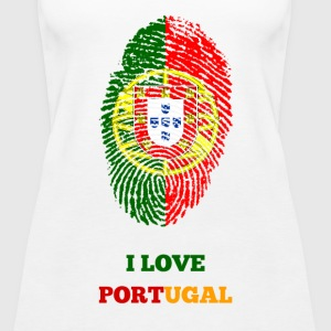 I LOVE PORTUGAL - Frauen Premium Tank Top