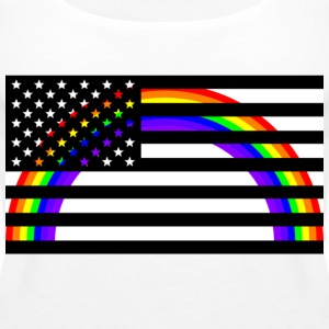 USA RAINBOW - Vrouwen Premium tank top