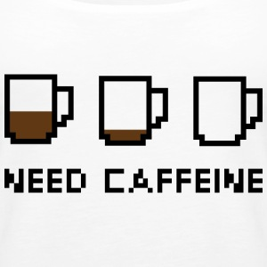 Need Caffeine - Women's Premium Tank Top