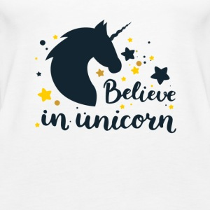 BELIEVE IN UNICORN - Women's Premium Tank Top