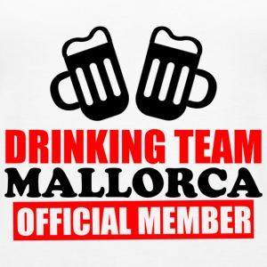 drinking team Mallorca - Women's Premium Tank Top
