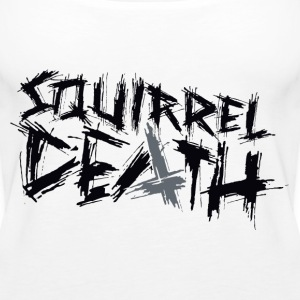 Squirrel DEATH - Logo positivt - Premium singlet for kvinner