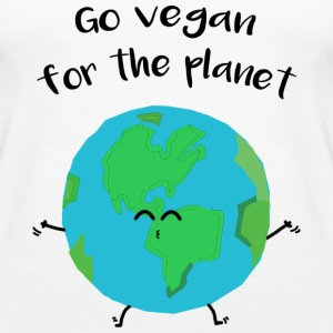 "Vegan for the planet - ""Vegan for the planet"" - Women's Premium Tank Top"