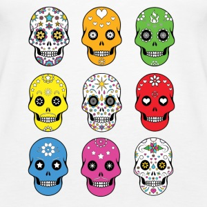 Sugar skulls - Women's Premium Tank Top