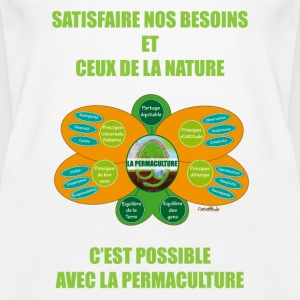 Ethics and Principles of Permaculture - Women's Premium Tank Top