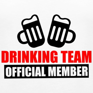 drinking team: official member - Women's Premium Tank Top